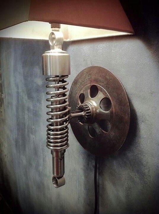 Re-purposed auto parts? Booooooiiiinnnngggg!