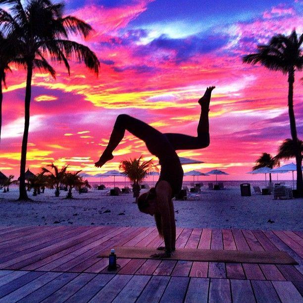 Positive - Mug   Yoga, Yoga photography, Yoga for stress ...