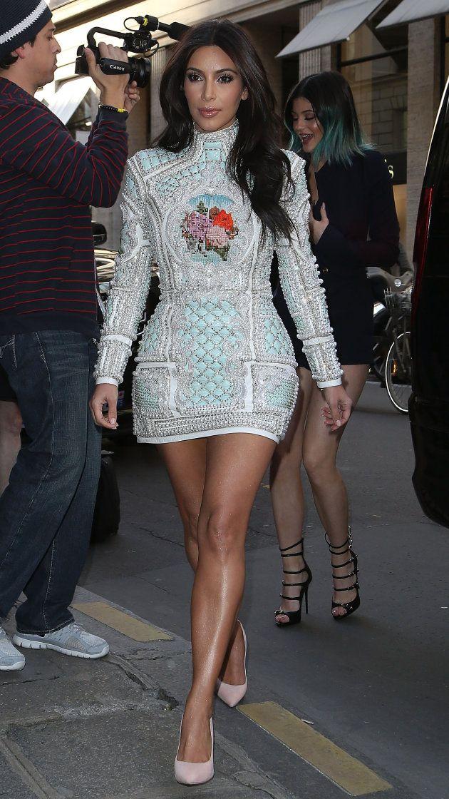 Kim Kardashian S Bachelorette Party Dress Is Worth Talking About