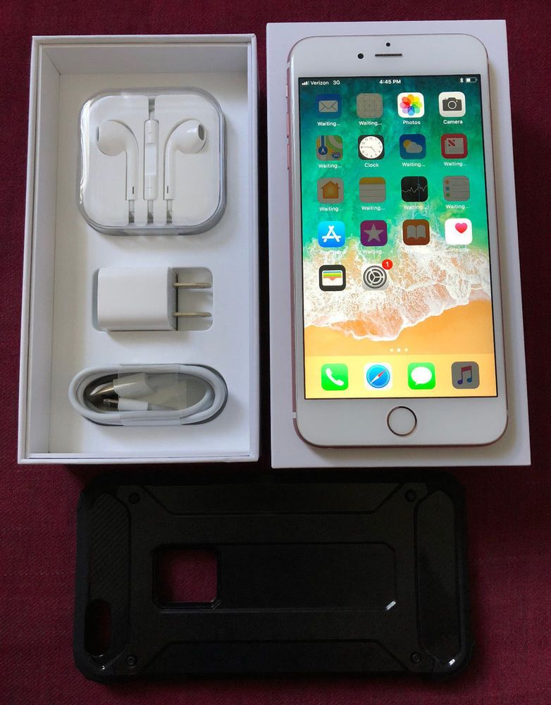 Apple Iphone 6s Plus 64gb Rose Gold Unlocked A1687 Cdma Gsm 5 5 Smartphone Apple Iphone 6s Plus Apple Iphone Apple Phone