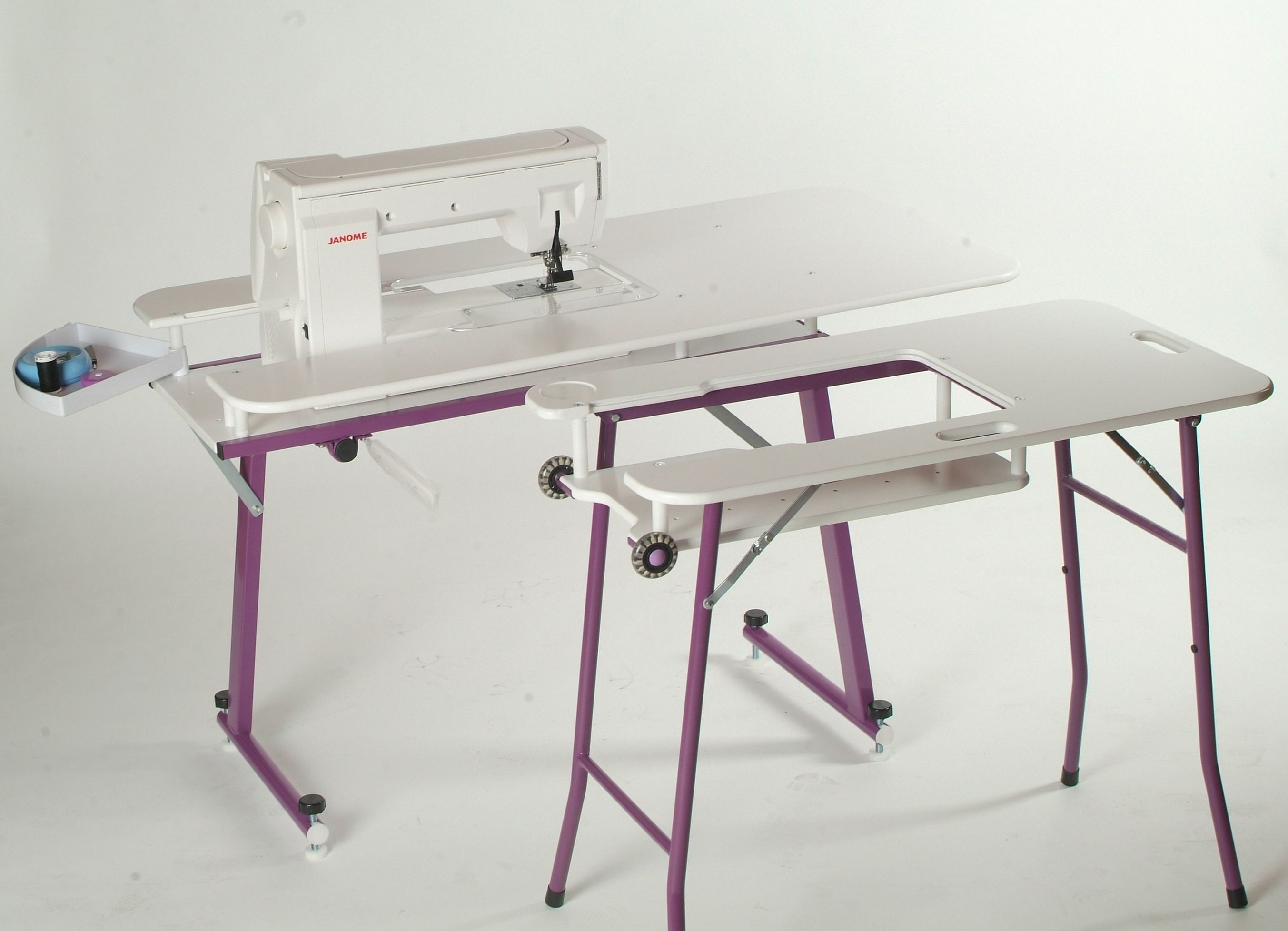 portable sewing machine tables