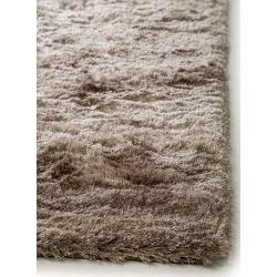 Photo of benuta Essentials Hochflor Shaggyteppich Whisper Hellbraun 160×230 cm – Langflor Teppich für Wohnzim