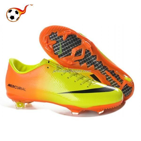 best service c80b9 4d5cc comprar Nike Mercurial 9 Firm Ground Nike Mercurial Vapor IX In Naranja  Amarillo Negro Zapatos de Fútbol para niñas