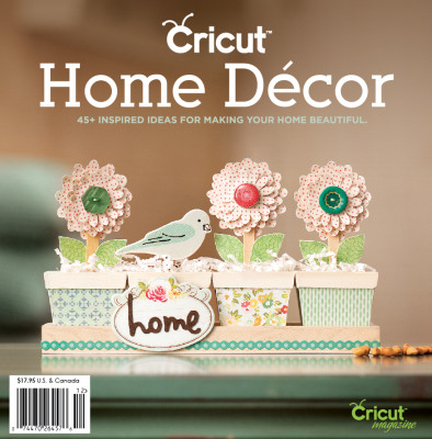 Cricut Home Decor Idea Book 2012
