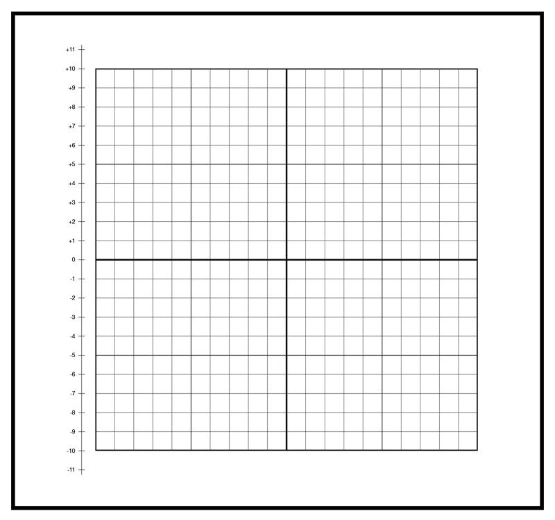 503002, Repositionable, Low-Tac Peel \ Stick Graph - 1 - numbered graph paper template