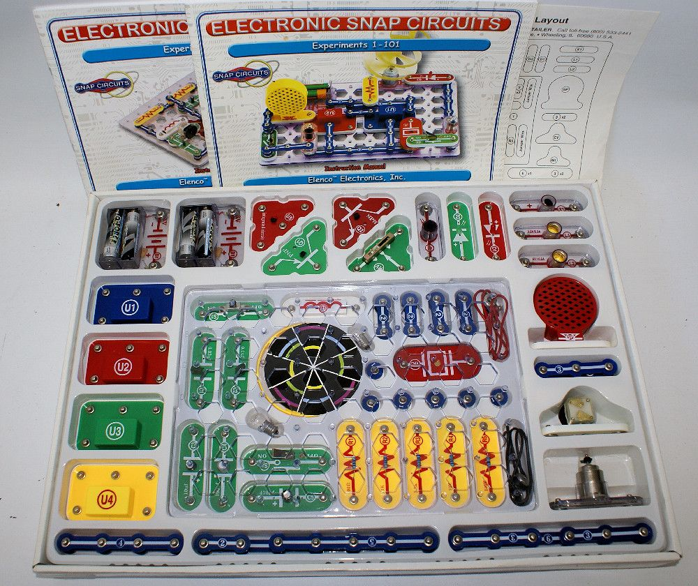 Elenco Electronic Snap Circuits 300 Educational Project Set New And Unused