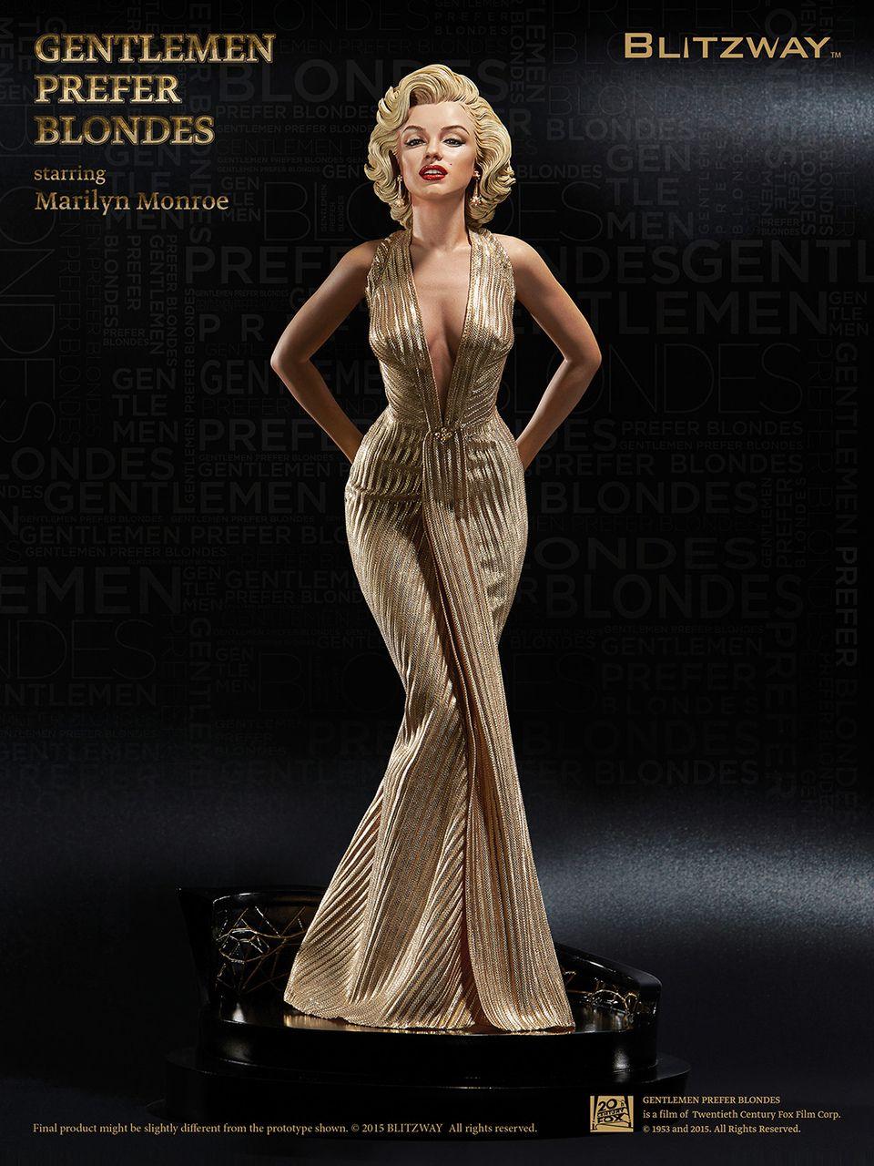 Gentlemen Prefer Blondes Hot Blitzway Marilyn Monroe 1//4 Superb Scale Statue