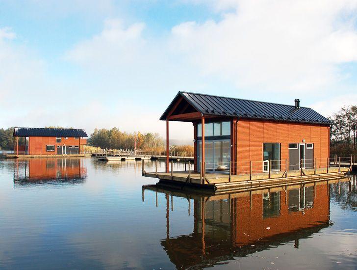Unveils Finland's First Floating Village