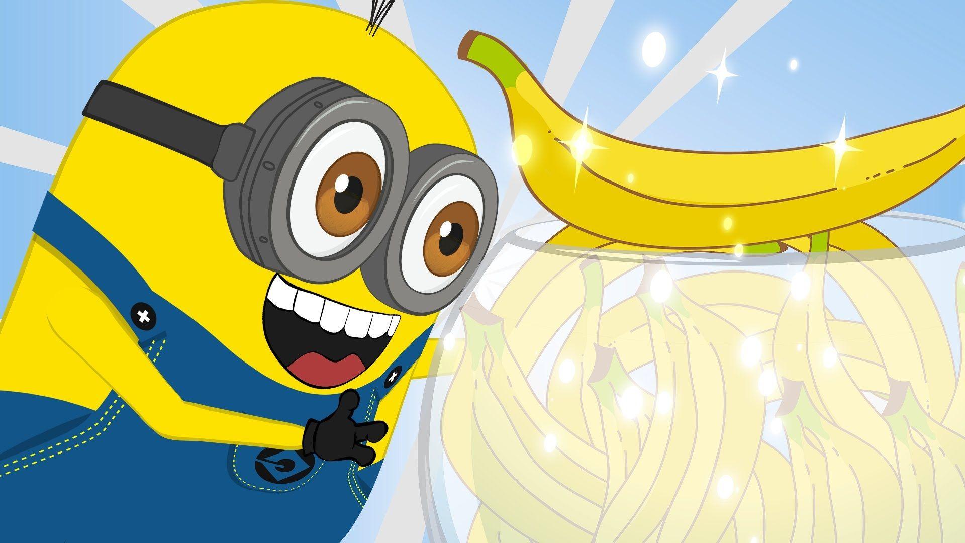 Minions Banana Minions Mini Movies Hd 1080p Minions Minion Banana Cartoons Full Movie