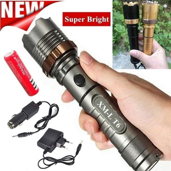 Trouble Light Extra Bright COB Handheld LED Battery Operated Work Flashlight