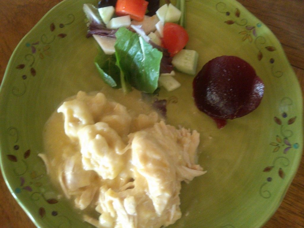 Chicken and Dumplings: Crock-Pot Style #chickendumplingscrockpot