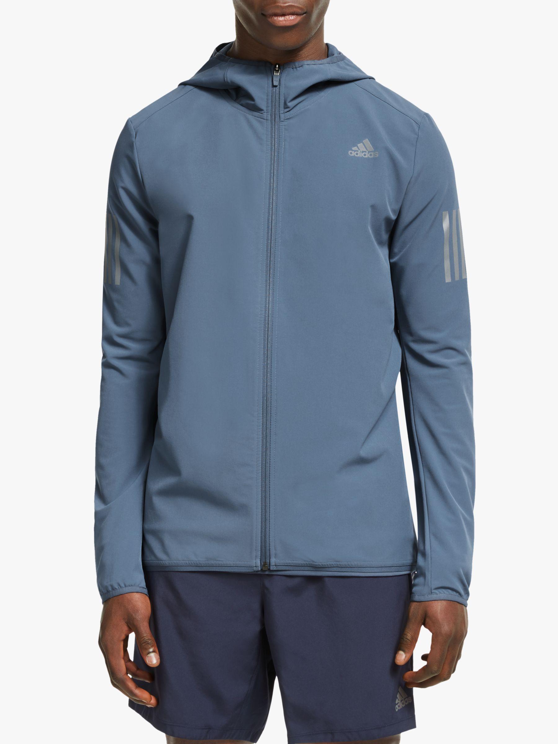 adidas tech blue own the run jacket