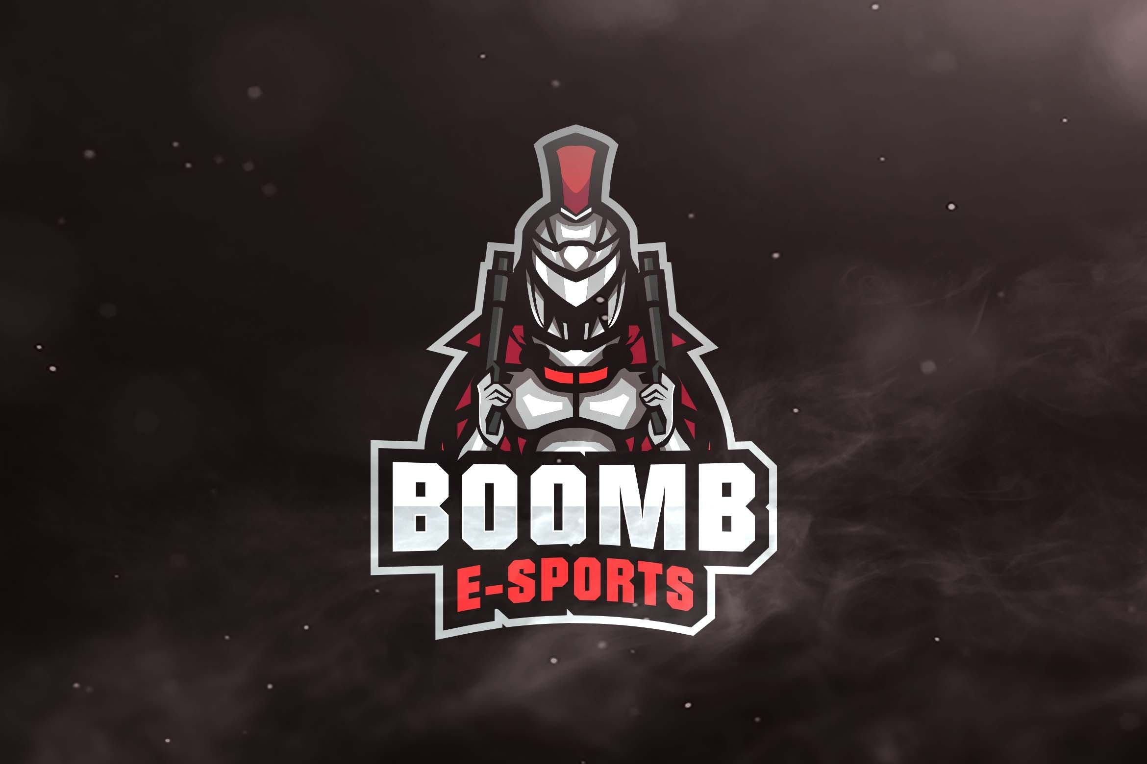 Boom Sport And Esports Logos By Ovozdigital On Envato Elements Esports Logo Graphic Design Services Logo Design