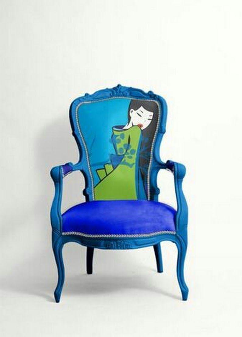 Arredare con le sedie | Sedie imbottite, Sedie decorate e ...