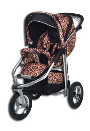 Leopard Print Stroller I Want A Later On When Have Kids But 4 Wheel Not 3