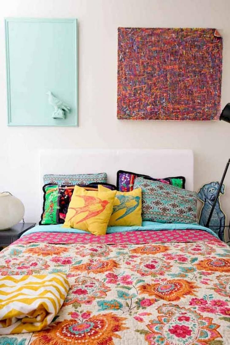 50+ Eclectic Bedroom Decorating Ideas On A Budget ...