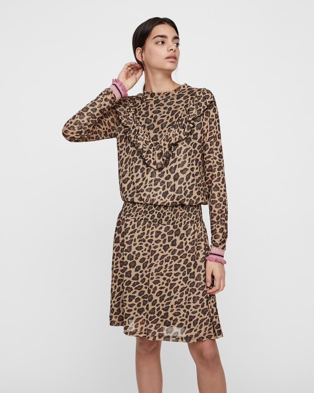 ff8a777a Sofie Schnoor kjole - Leopard i 2019   Mode   Korte kjoler