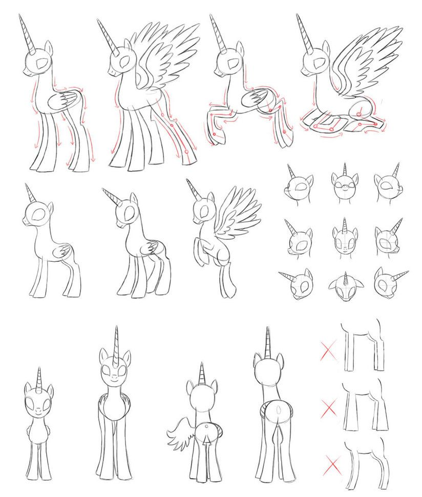 mlp how to draw