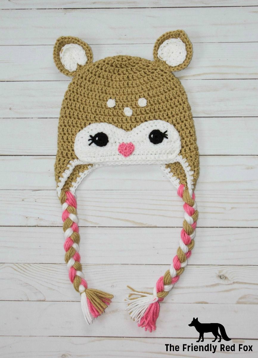 This little crochet deer hat pattern came to me while my son crochet this little crochet deer hat pattern bankloansurffo Choice Image