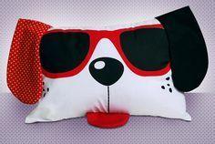 Photo of pillow, almofada, dog, cachorro