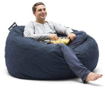 Home Bean Bag Chair Fabric Color Bean Bag