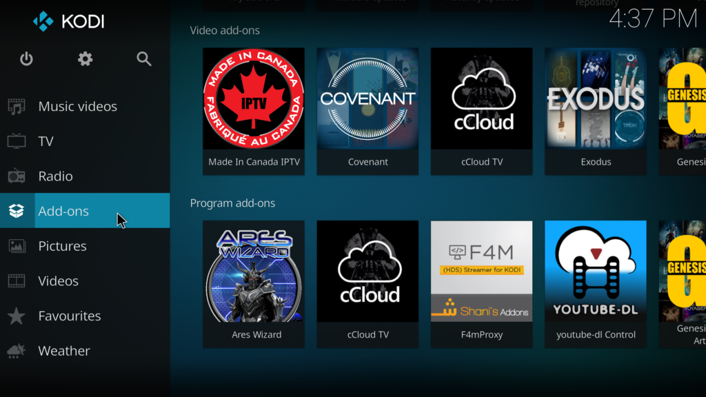 How To Install Made In Canada Addon On Kodi 17 Krypton