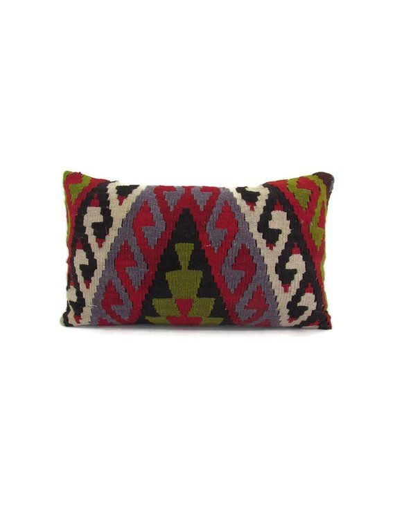 pillow cover 12x20 kilim pillow boho throw pillow case decorative pillow  christmas gift for women ho 6d7926a17