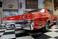 1965 Chevrolet Impala Hardtop SS 396 Match. Nr – TUV und H Classic car for sale-…