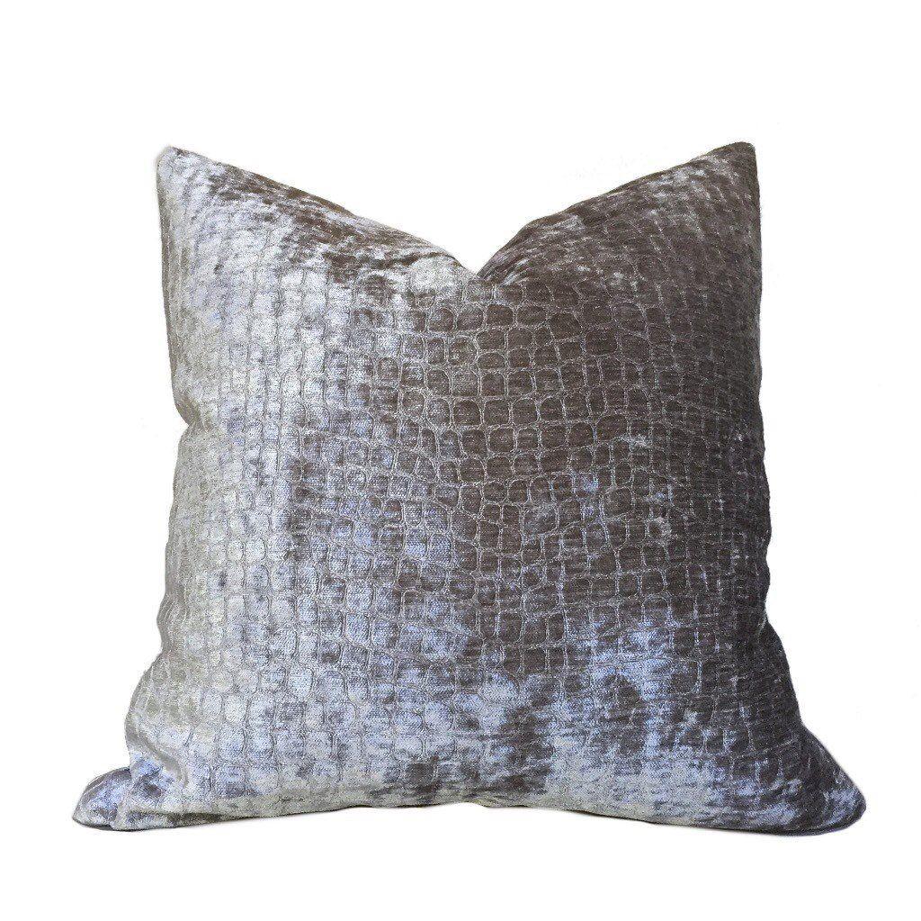 Grey Throw Pillows Gray Pillow Cover