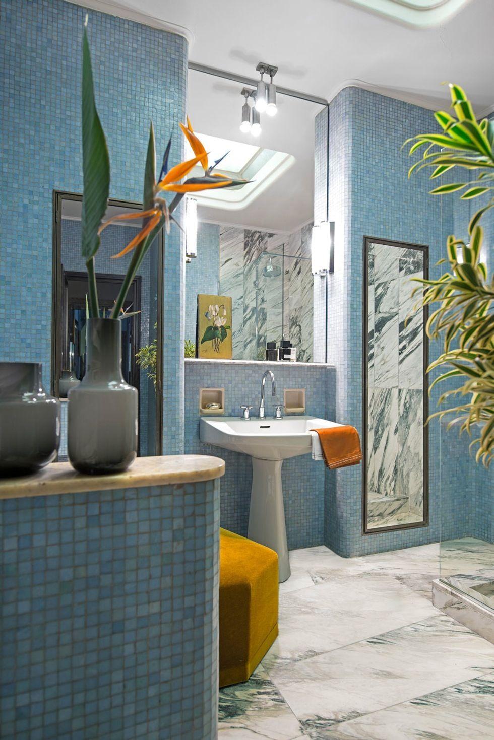 4. Få inn frodige planter på badet
