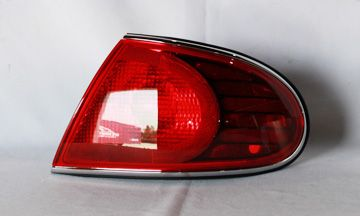 2000 Buick Lesabre Chrome Clear Euro Taillights Tyc L And R Pair Buick Lesabre Tail Light Tyc