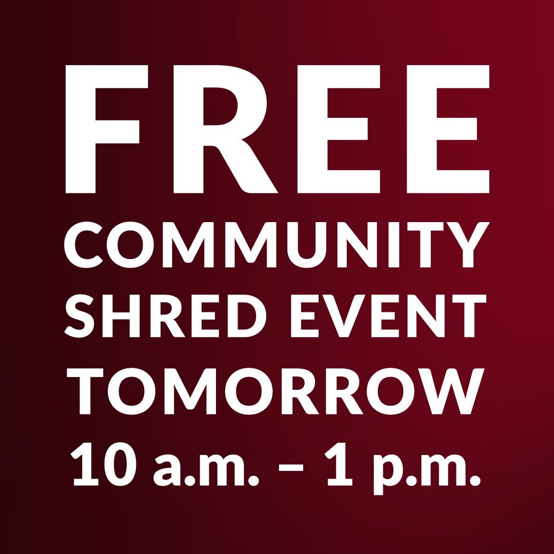 Klinger Insurance Group S Shred Day Is Tomorrow Bring Up To 50