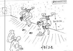 Former North Korea labor camp victim draws pictures detailing various punishments