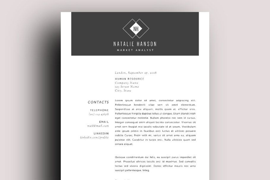 Word Resume Business Card Templates Resume Word Business