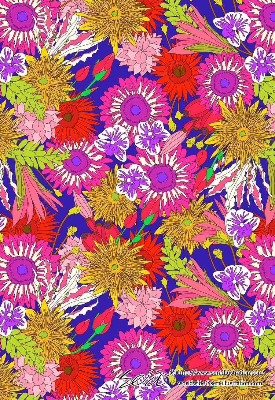 "hello sunshine"" パターン #seri #serihano #illustrator #art #artist"