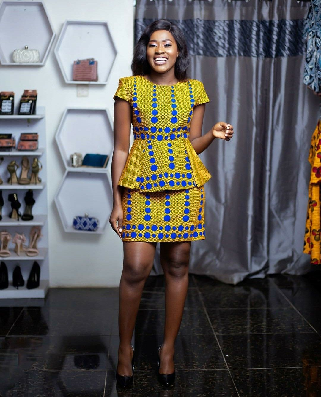 Martha Ankomah In A Beautiful Kaba And Slit Style Made By GTP