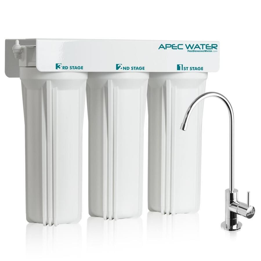 Apec Water Wfs 1000 Super Capacity 3 Stage Sediment And Carbon