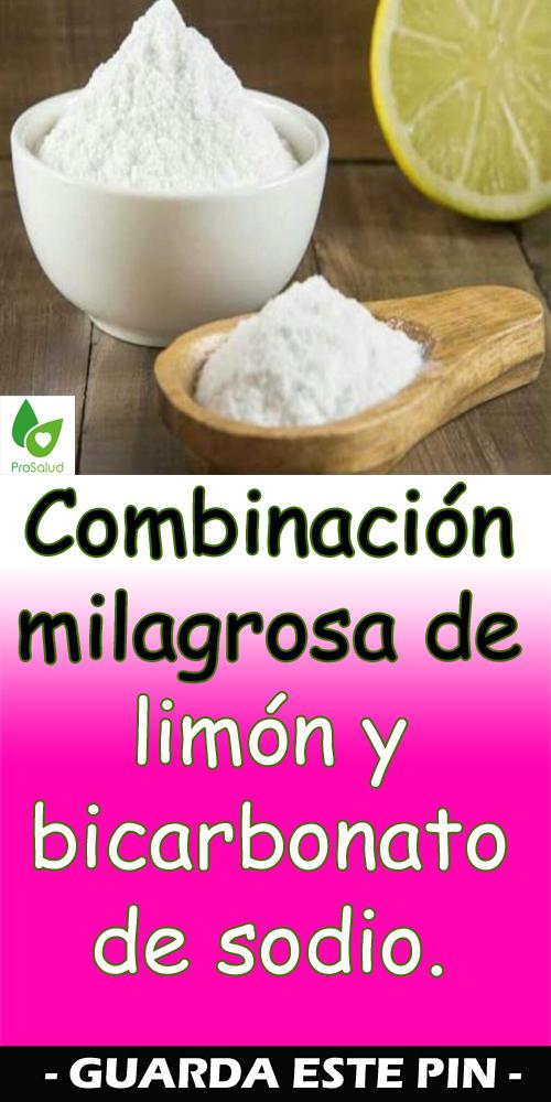Combinación Milagrosa De Limón Y Bicarbonato De Sodio Healthy Nutrition Food Nutrition