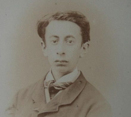 Today is the birthday of Tristan Corbière, born in 1845. He was a French poet born in Coat-Congar, Ploujean, near Morlaix in Brittany, where he lived most of his life and where he died. His work was little known until Paul Verlaine included him in his gallery of poètes maudits (accursed poets), but Verlaine's recommendation was enough to get his work noticed and established him as one of the masters acknowledged by the Symbolists.