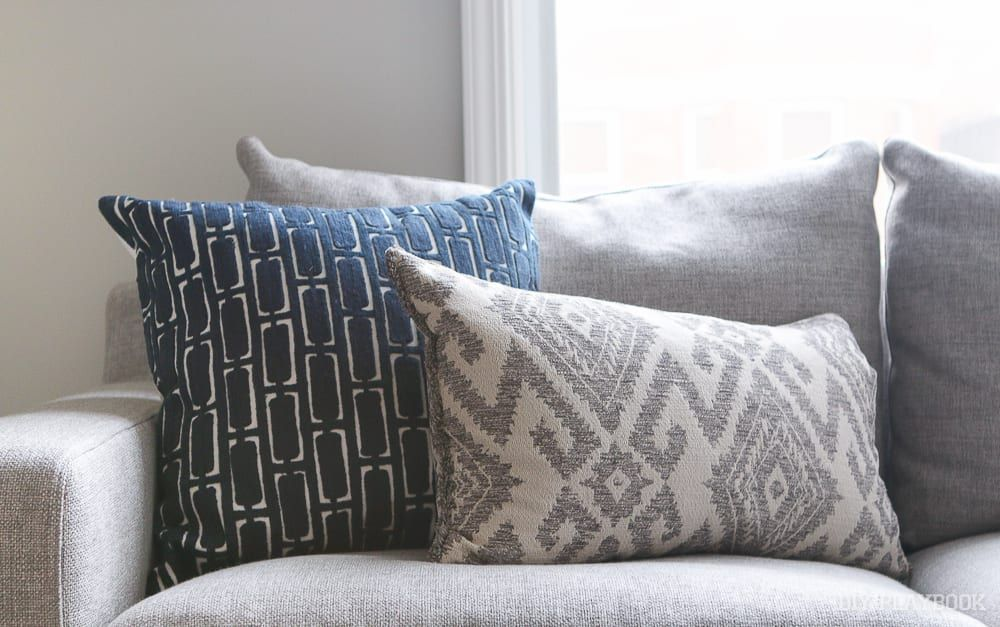 Add comfort to your home with. How to Choose Throw Pillows for a Gray Couch   The DIY ...