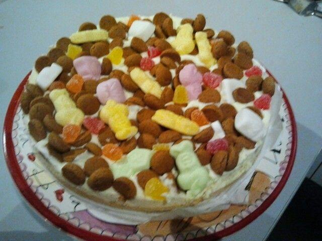 Pepernotentaart Met Monchou Gezonde Koekjes Birthday Cake Cake