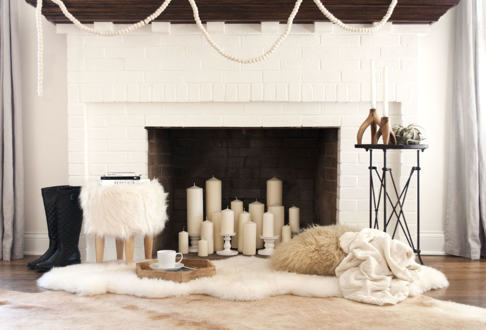 12 Ideas For Decorating A Nonworking Fireplace Empty Fireplace Ideas Living Room With Fireplace Fireplace Decor