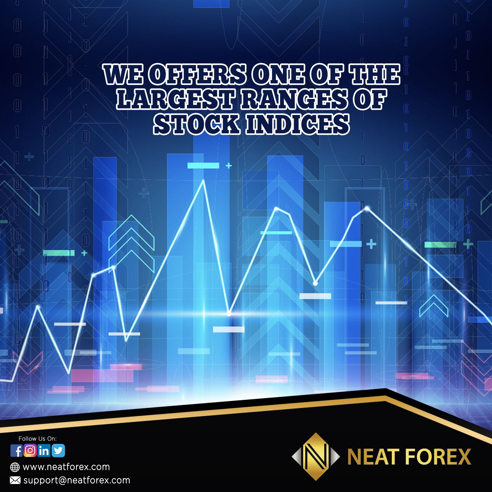 Neat Forex Offers One Of The Largest Ranges Of Stock Indices Of