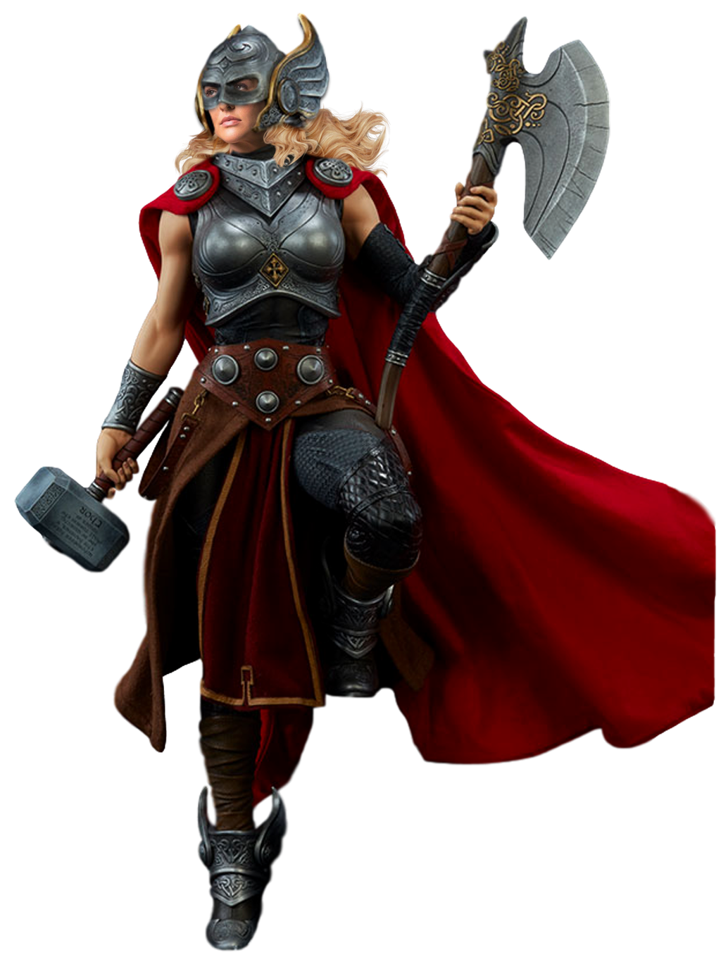 Jane Foster's Thor - Transparent! by Camo-Flauge on DeviantArt | Thor girl,  Thor, Female thor