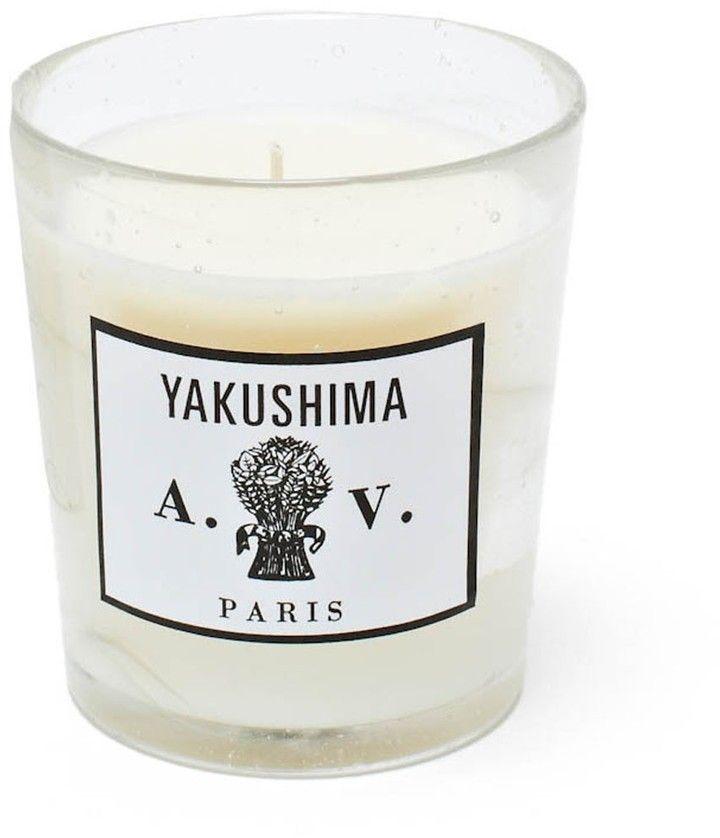 Astier De Villatte Astier de Villatte Yakushima Candle # ...