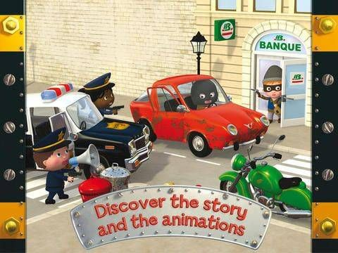 Appysmarts - Oscar's police car - Little Boy   Kids app ...