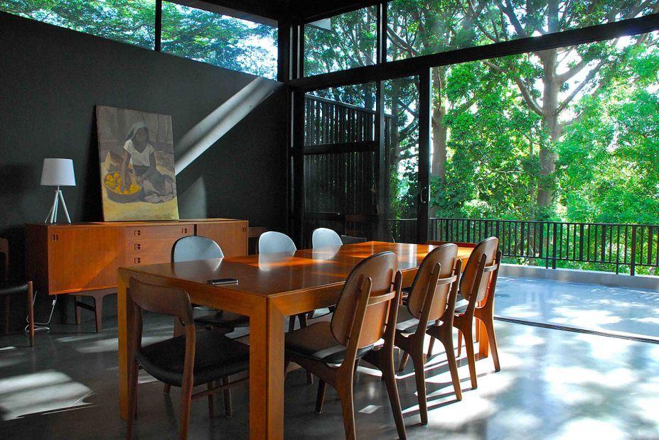 Interior, Contemporary Home Interior Design Built In Natural
