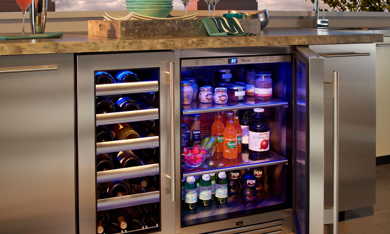 Image Source Fireside Outdoor Kitchen Modern Refrigerators Refrigerator Outdoor Refrigerator