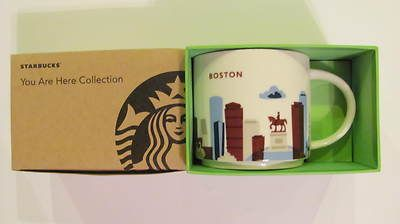 New Starbucks Mug Boston You Are Here Collection New in ...