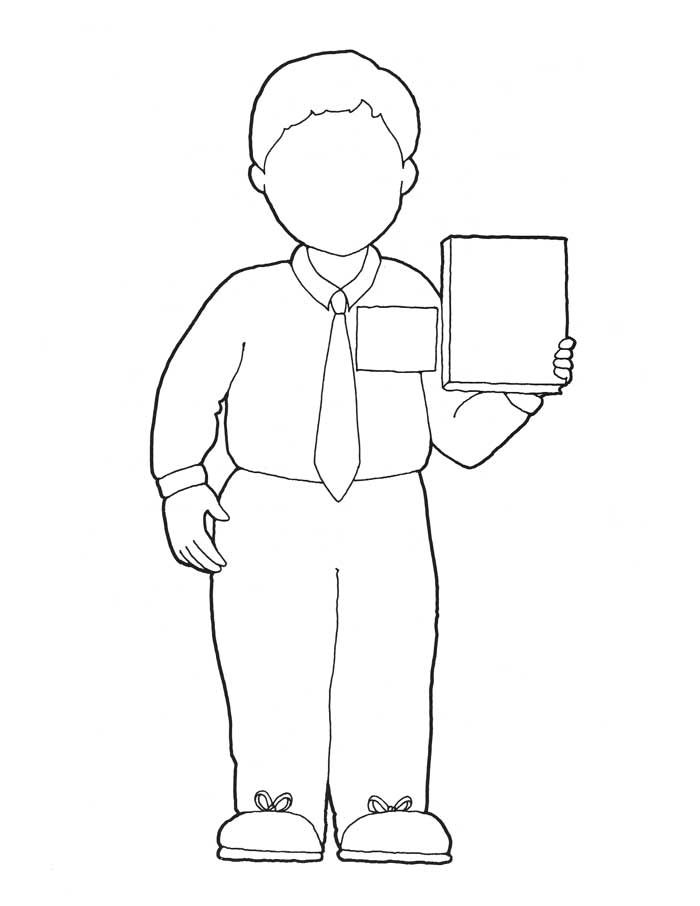 I want to be a missionary now coloring page (sister missionary on ...